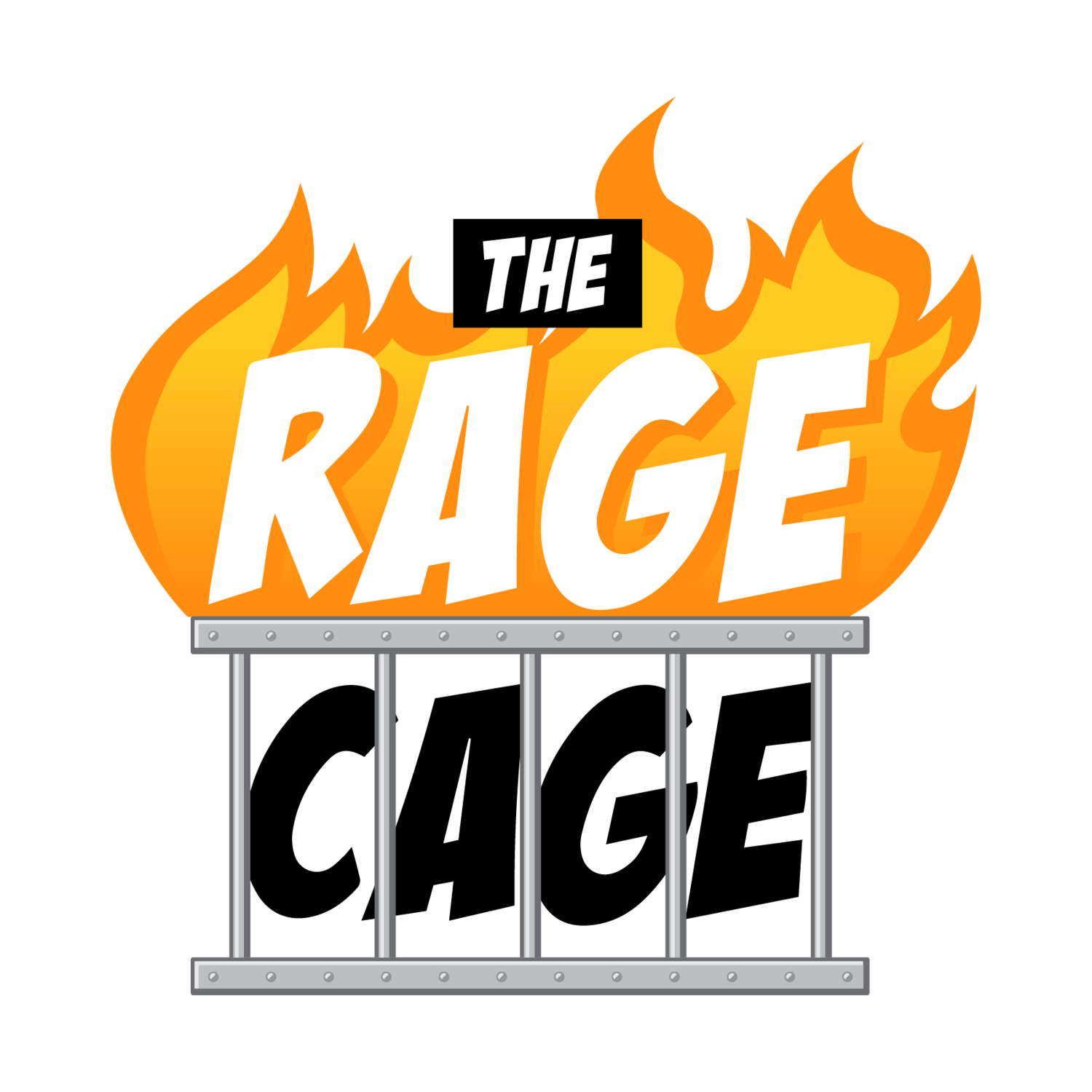 The Rage Cage - Break Plates, Smash Printers, and More!