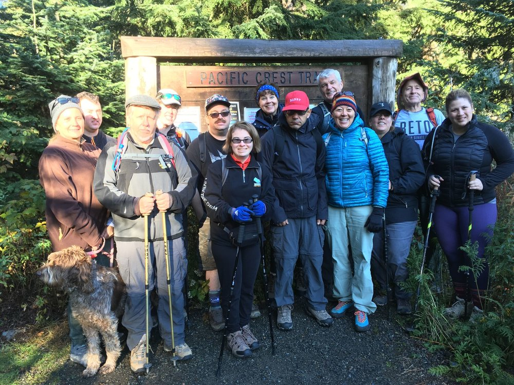 Hike with Hawks 10/13/18