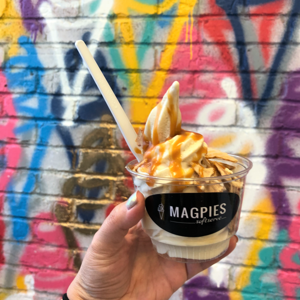 Magpies Vegan Soft Serve Ice Cream