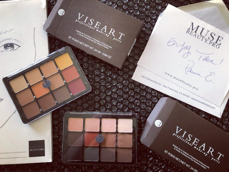 Viseart Neutral Mattes and Viseart Warm Mattes