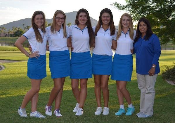 Xavier College Preparatory - Phoenix, ArizonaNote: Hannah O'Sullivan (third from the left) Former #1 ranked amateur in the world, 2015 U.S. Women's Amateur Champion & winner of the 2015 LPGA Symetra Tour Gateway Classic (age 16), four-time AJGA Rolex Junior All-America.