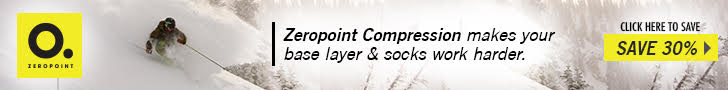 Save 30% off on compression wear from our sponsor    Zeropoint Compression .