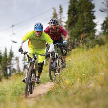 Trails at Grand Targhee Resort and Bike Park