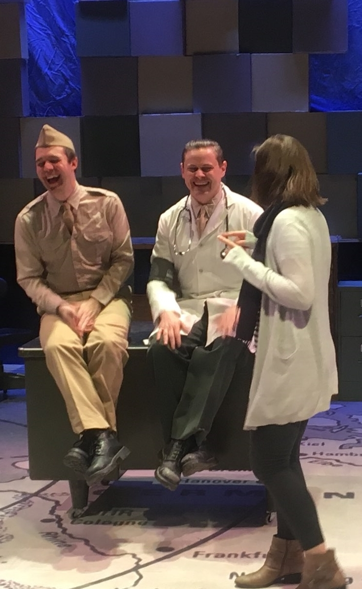 In rehearsal:  Catch-22