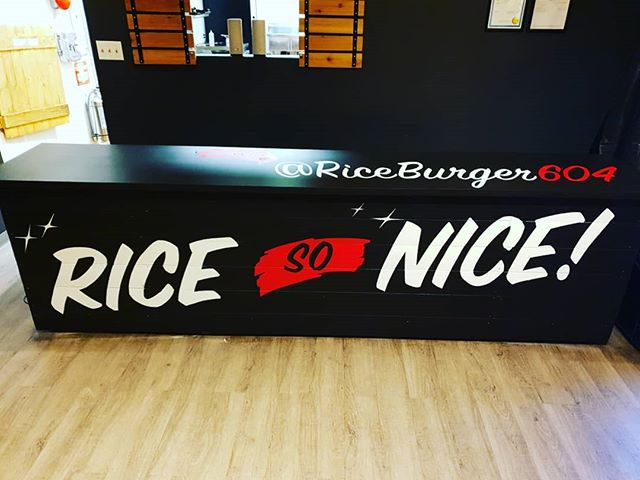 "Some late night touch ups to the store. We'd tell you the ""Rice So Nice"" but you already knew that!🔥 Big thanks to our friend @naksonesdk for the always amazing work."