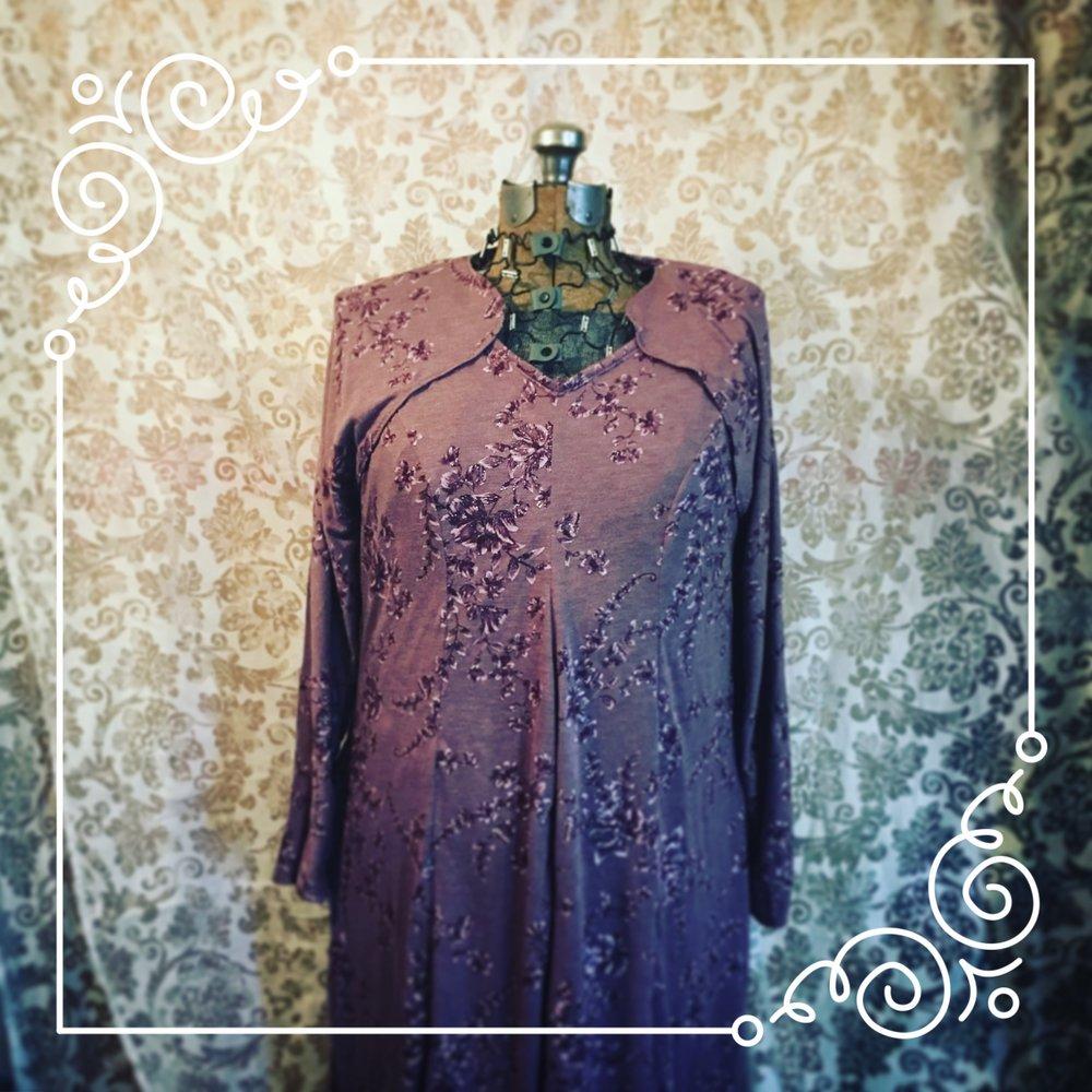 Custom Dress with matching shrug -