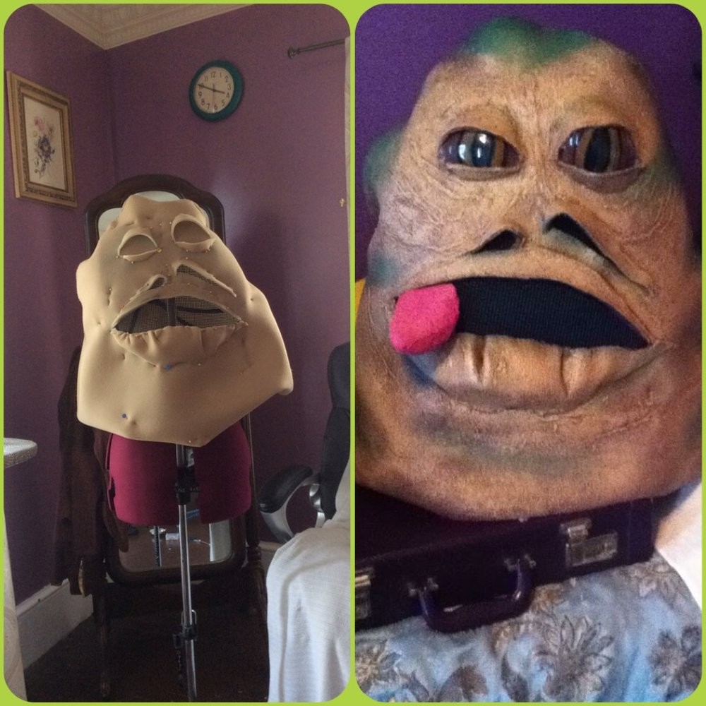 Jabba Head for a  music video  *language warning