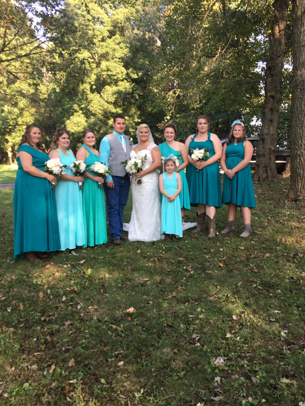 Bridesmaid's Dresses and Gown Alterations -