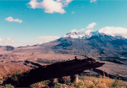 Mt St Helens Volcanic Eruption -