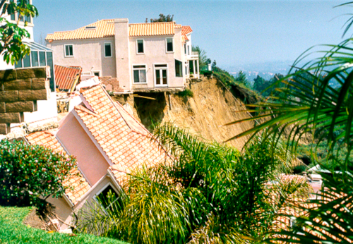 Via Estoril Landslides -