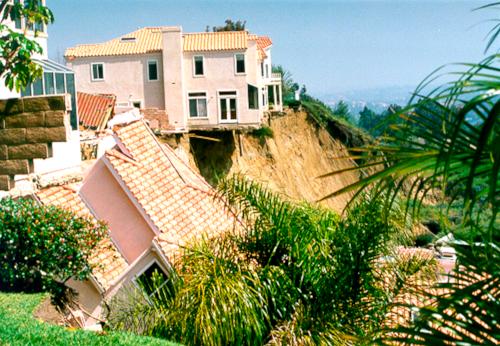 Via Estoril Landslides -
