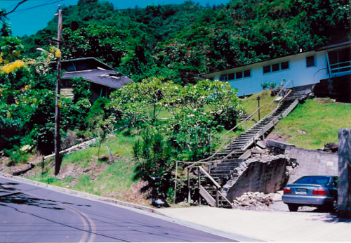 Manoa Landslides -