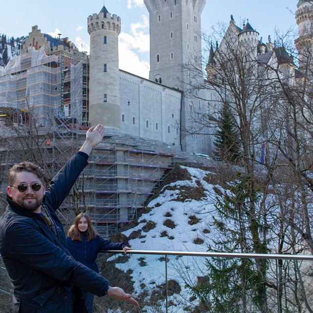 Traditional Bavarian Castle hunting.