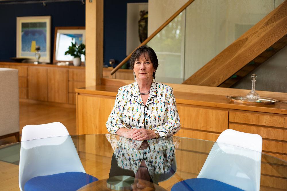 Pauline Latham OBE MP, by Maryam Wahid.