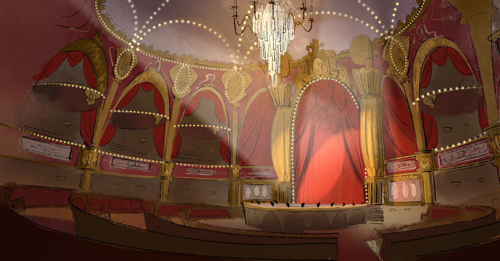 Music Hall Design