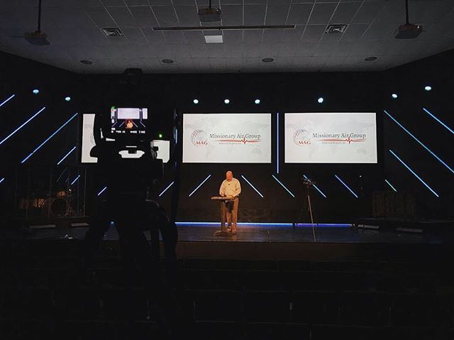 Filming today for our 1TenUnited Campaign! Thank you Hope Church for allowing us to use your stage!