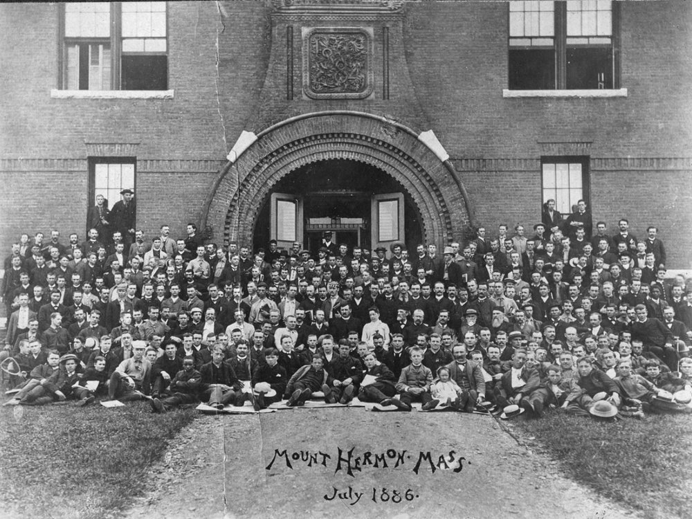 The student volunteer missions movement - 1886