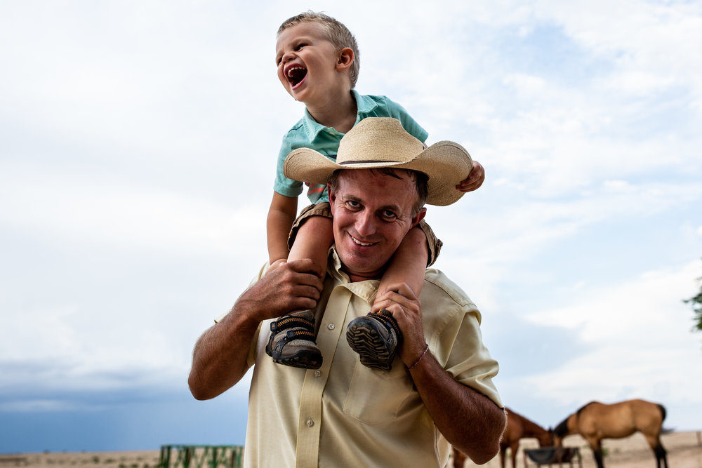 dad and son western NATURAL DAY IN THE LIFE family photographer family photography