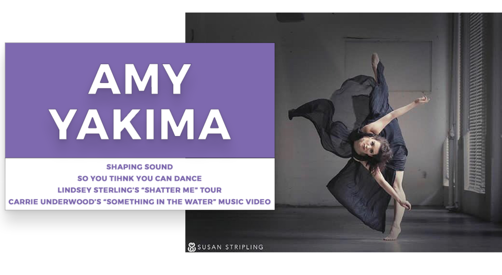 amy yakima | Stage Door Workshops | In-Studio Workshops, NYC LA Dance Trips, Broadway Dance Master Classes, Choreography, Intensives | Broadway, So You Think You Can Dance, Hamilton, Wicked, Aladdin, World of Dance, Beyonce, Alvin Ailey, Shaping Sound