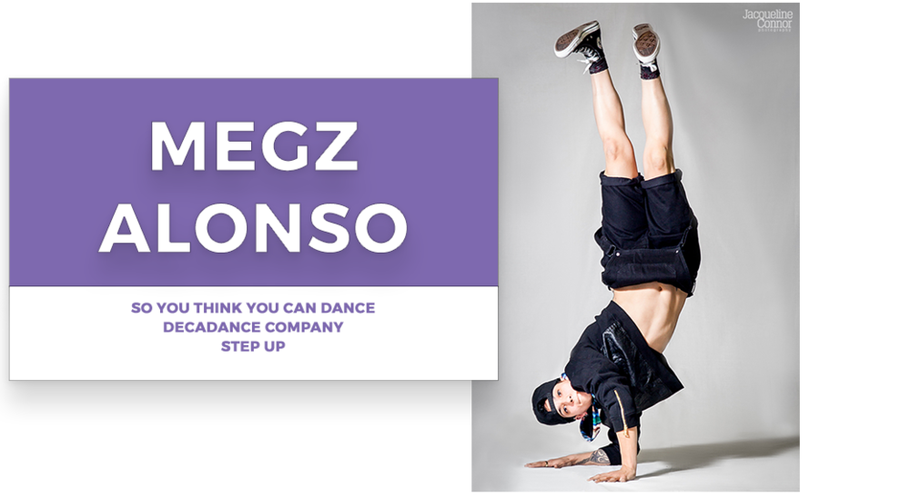 Megz Alfonso | | Stage Door Workshops | In-Studio Workshops, NYC LA Dance Trips, Broadway Dance Master Classes, Choreography, Intensives | Broadway, So You Think You Can Dance, Hamilton, Wicked, Aladdin, World of Dance, Beyonce, Alvin Ailey, Shaping Sound