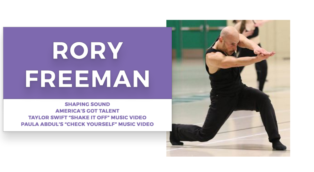 RORY freeman  | Stage Door Workshops | In-Studio Workshops, NYC LA Dance Trips, Broadway Dance Master Classes, Choreography, Intensives | Broadway, So You Think You Can Dance, Hamilton, Wicked, Aladdin, World of Dance, Beyonce, Alvin Ailey, Shaping Sound