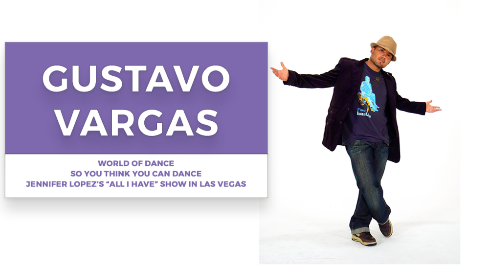 gustavo vargas | Stage Door Workshops | In-Studio Workshops, NYC LA Dance Trips, Broadway Dance Master Classes, Choreography, Intensives | Broadway, So You Think You Can Dance, Hamilton, Wicked, Aladdin, World of Dance, Beyonce, Alvin Ailey, Shaping Sound