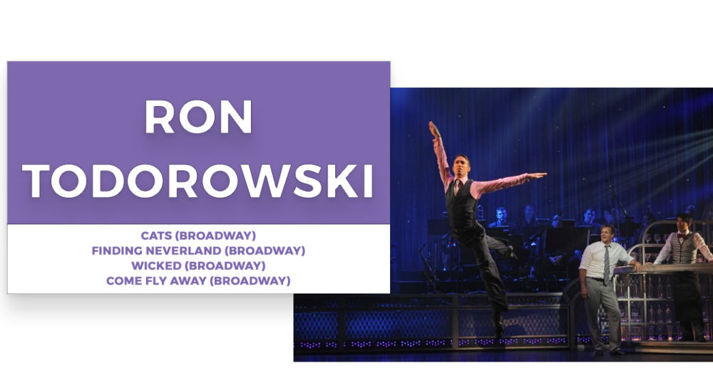 ron todorowski | Stage Door Workshops | In-Studio Workshops, NYC LA Dance Trips, Broadway Dance Master Classes, Choreography, Intensives | Broadway, So You Think You Can Dance, Hamilton, Wicked, Aladdin, World of Dance, Beyonce, Alvin Ailey, Shaping Sound