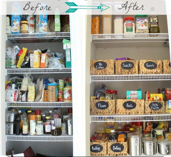 Find what you need quickly. Prevent buying duplicates. Avoid outdated foods taking up space. Feel better.