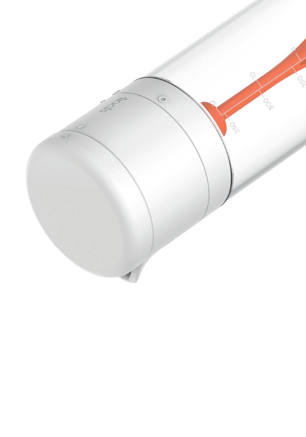 VERROUILLAGE INTégré - Simple et fonctionnel : Déverrouillez le bouton pressoir pour actionner le mécanisme. Une fois terminé, ouvrez le bec verseur et servez !Pratique : Verrouillez la tête et conserver votre vinaigrette dans la porte d evotre réfrigérateur. Il vous suffira de redonner un petit coup la prochaine fois pour retrouver votre mélange initial.• Mécanisme à piston• Pale intérieure étudiée pour racler le fond• Graduation + recettes• Rangement facile dans le réfrigérateur500322 TWISTER