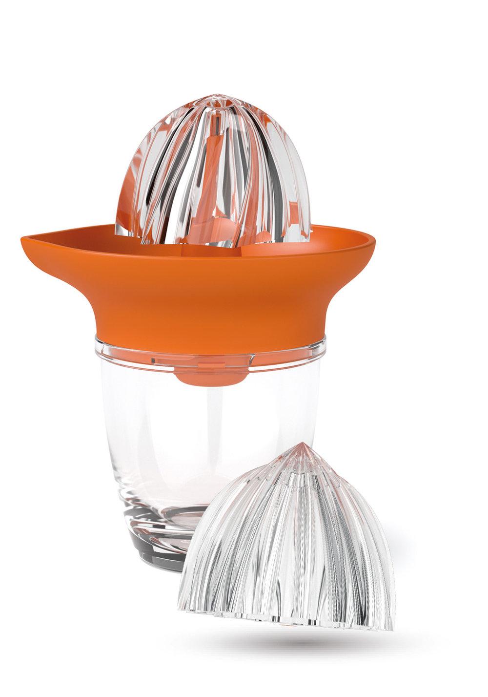 JUICY - • Presse-agrume deux têtes (orange/pamplemousse)• Mécanisme démultiplicateur de force• Bol en tritan ultrarésistant• Nettoyage facile500247 JUICY