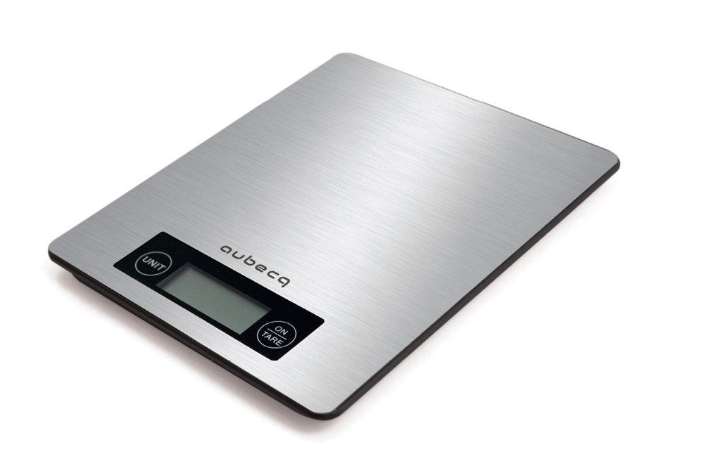 Balance FLAT inox - Pesée maximale 5 Kg - Précision 1 g - Aquatronique - Tare - Niveau de batterie - Piles incluses• Plateau inox• Balance plate• Menu simple• Touches sensitives001024 Balance Flat Inox