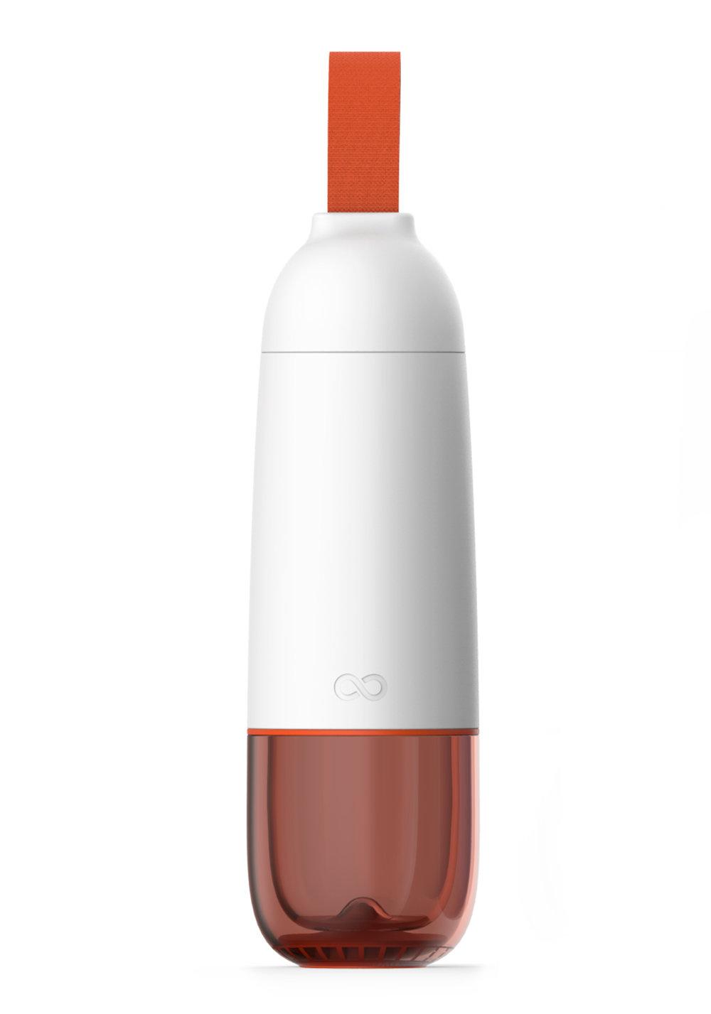 CApsuleWATER BOTTLE - • Bouteille en verre• Deux parois• Hermétique• Ouverture et fermeture faciles• Capacité 0.50L500345 CApsule LUNCH BOX