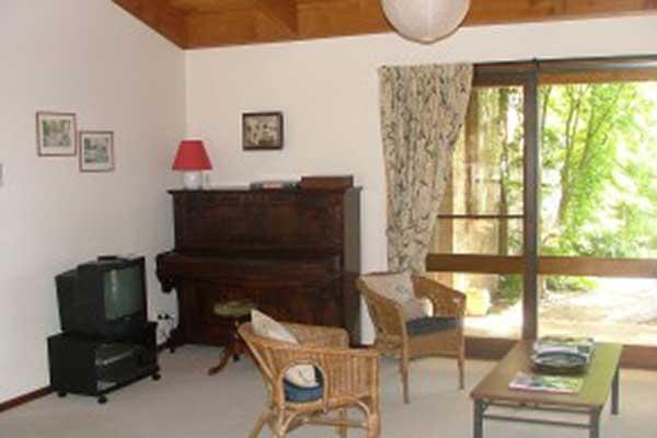 The Studio's living area