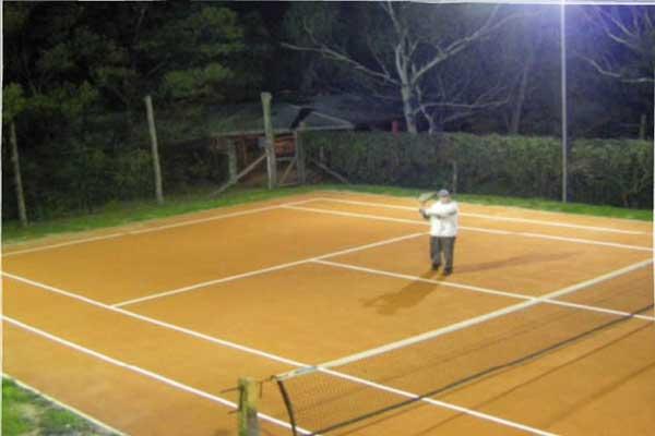 Wattleton Farmstay — all weather tennis court