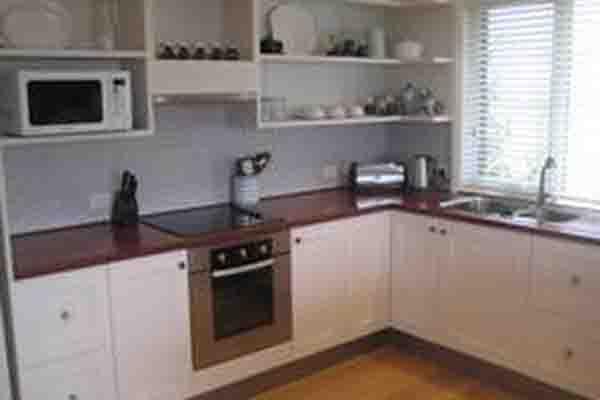 Aurelia's Farm — equipped kitchen