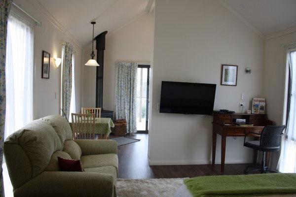 Grace Cottages — cosy living area
