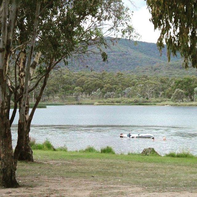 Cool off at Dumaresq Dam. 10 kms from Armidale. Enjoy a relaxing Bbq while the kids play. www.ruralstay.com #newenglandhighcountry #bnb #farmstayaustralia #walcha #armidale #uralla #guyra #tenterfield #familyfriendly #petfriendly