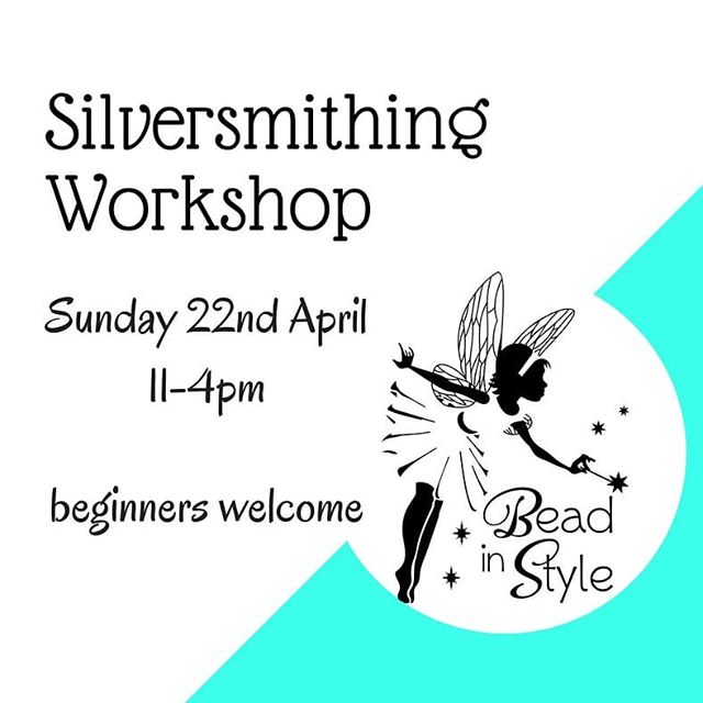 It's on again! Thanks for your patience, you can book a date now 😉 #silversmithingworkshop #jewelleryworkshop #warrnambool #3280 #beadshop #thingstodo