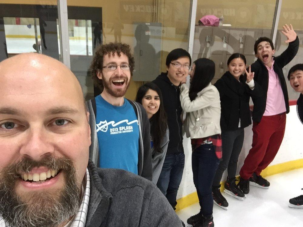 When you think Santa BarbarA, you Think Ice Skating