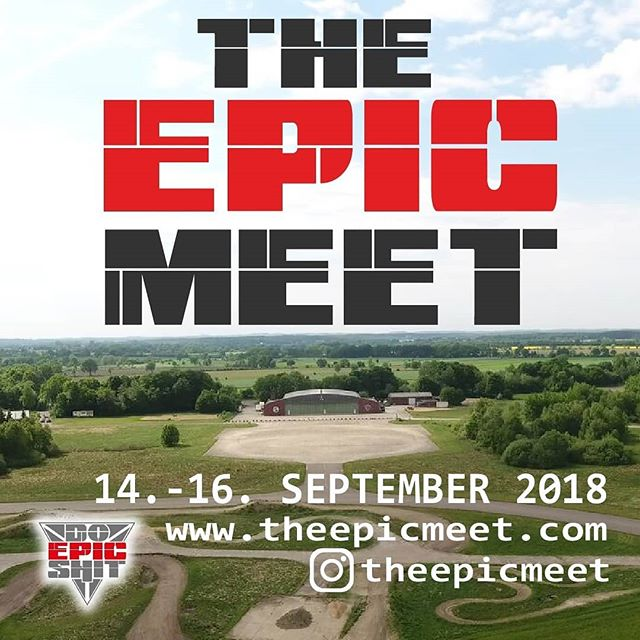 Das Event des Jahres ! 2000 Fahrer & Besucher Tickets. Händlermeile & Partyareal Stuntriding/Supermoto/Enduro/MX Rennen-Wettkämpfe-Community 14-16. September. Einlass 8.00. #Theepicmeet #Germamy #Event #Community