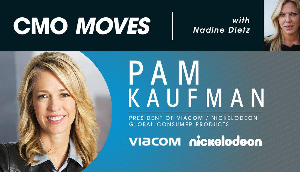 Pam Kaufman, President of Viacom Nickelodeon Global Consumer Products