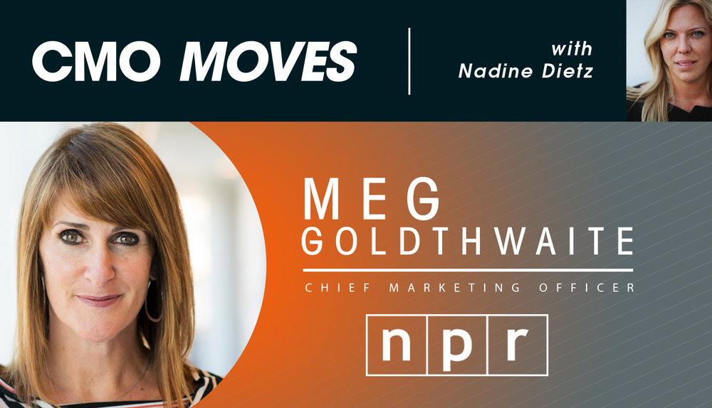 Meg Goldthwaite CMO of NPR on #CMOMoves.jpg