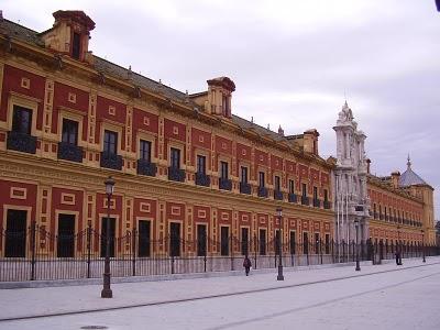 Palacio de San Telmo, sede de la presidencia de la Junta de Andalucía.