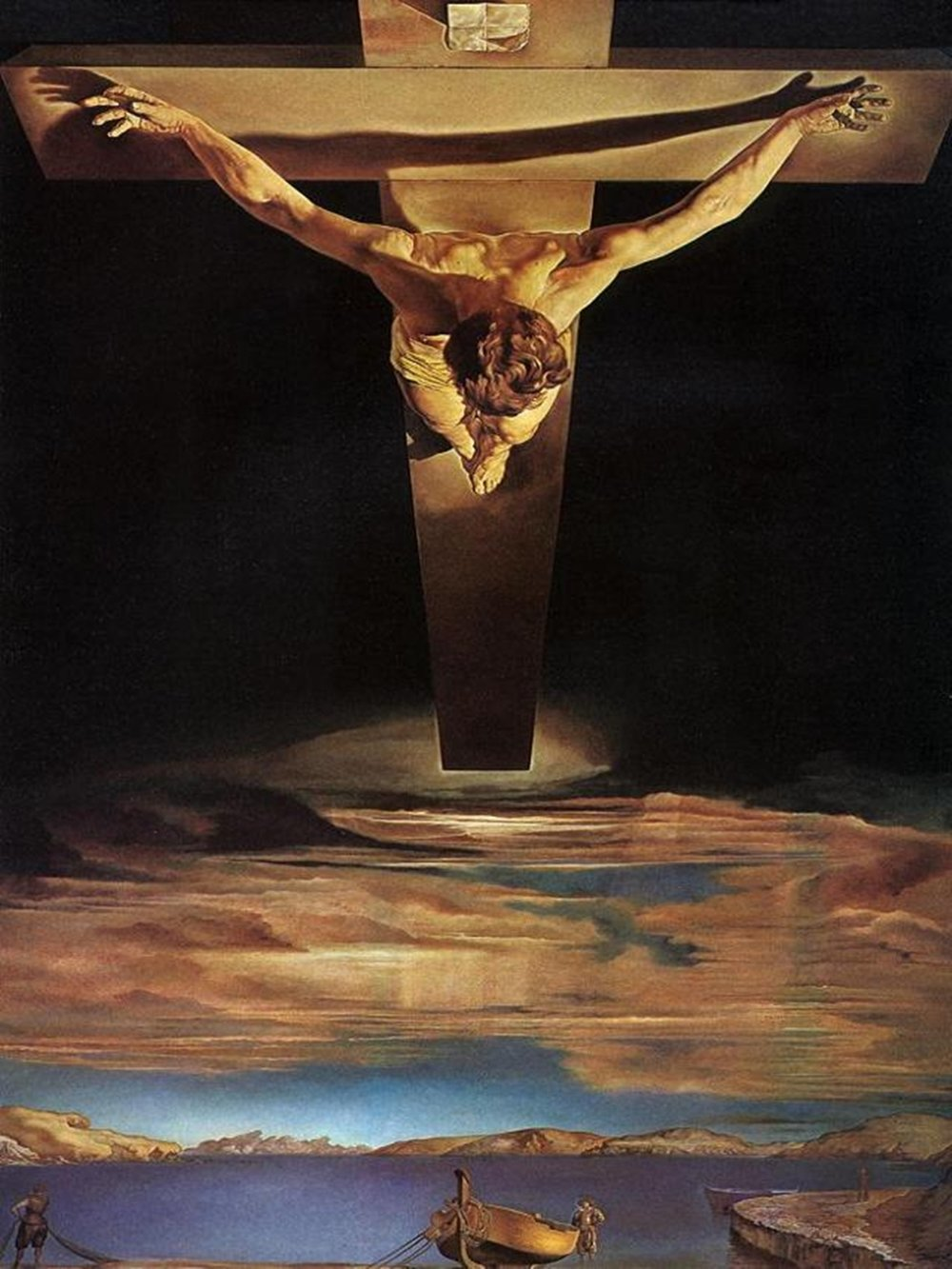 Dalí, cristo de San Juan de la cruz.