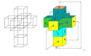 Cubo en 4 dimensiones.