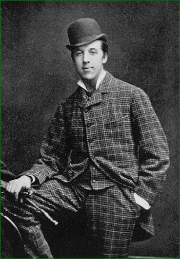 Oscar Wilde estudiante (1876)