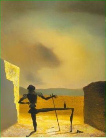 """""""El espectro de Delft"""" (1934) Salvador Dalí. Fundación Gala."""