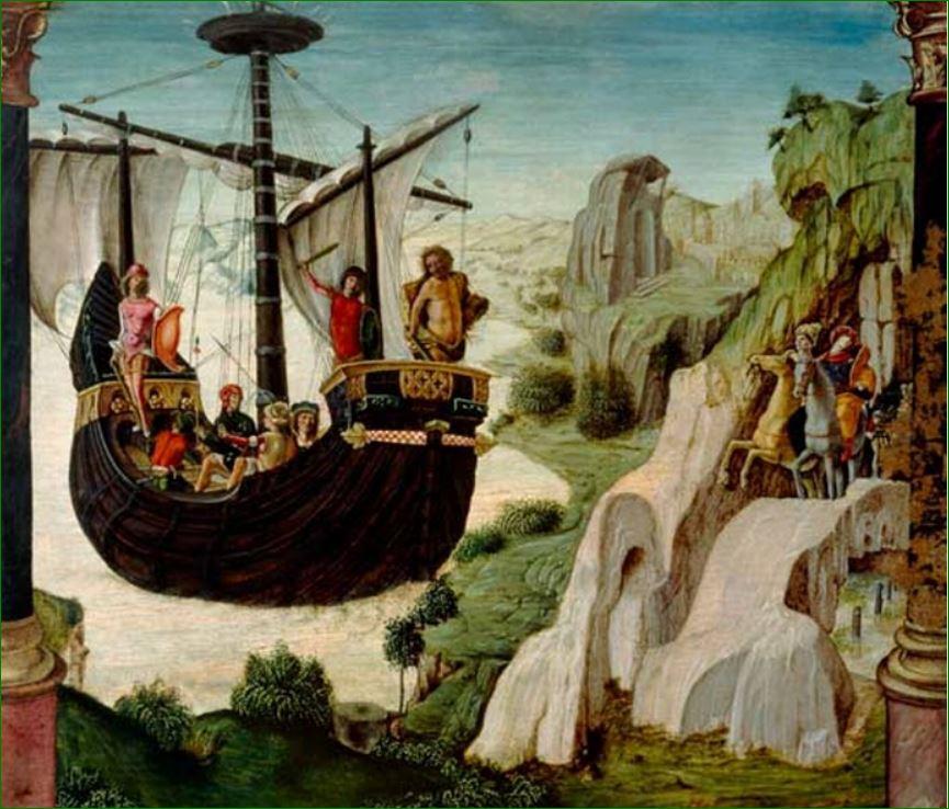"""""""El Argo""""(1500-1530)  Lorenzo Costa El Viejo (1460-1535)"""
