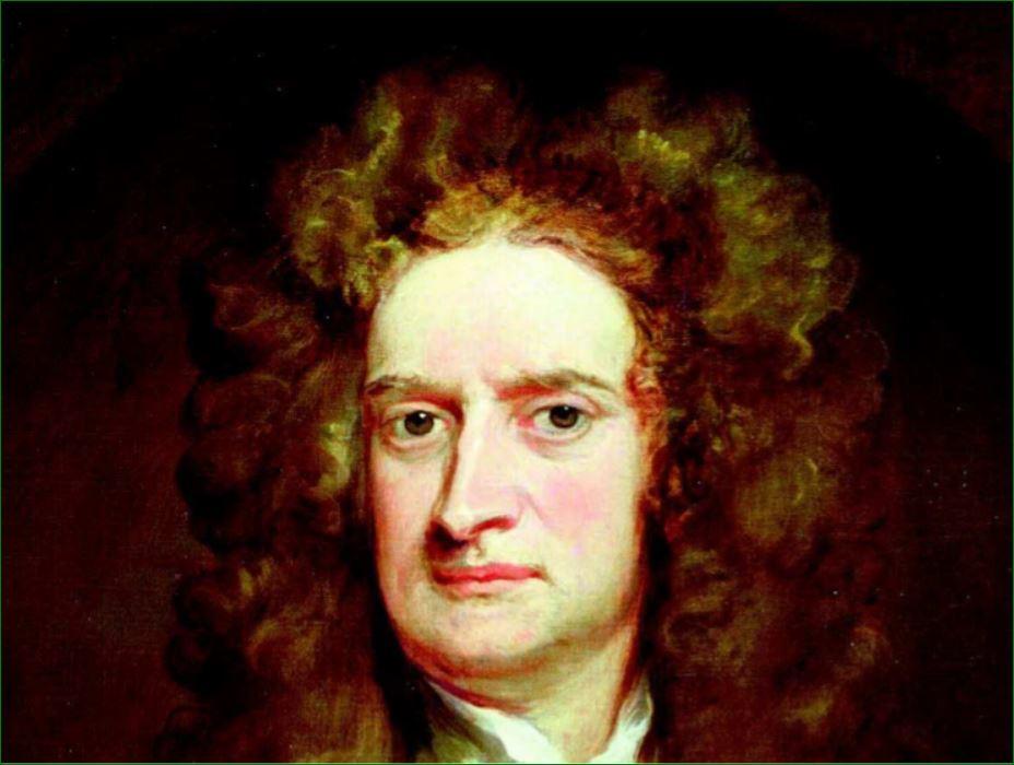 """""""Retrato de Isaac Newton"""". Sir Godfrey (1702). Galería Nacional de Retratos de Londres."""