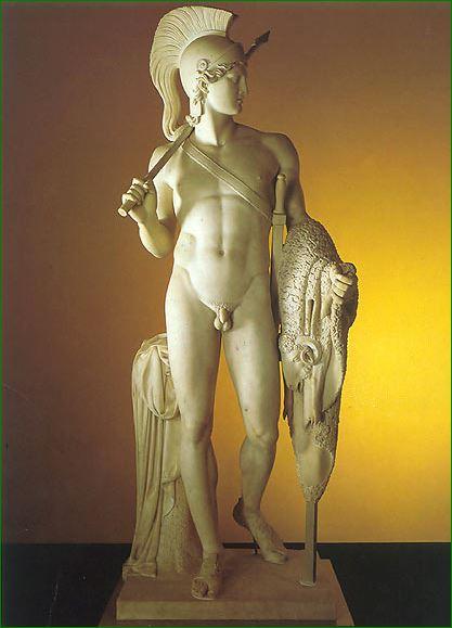 """""""Jasón con el vellocino de oro""""  (1803)"""
